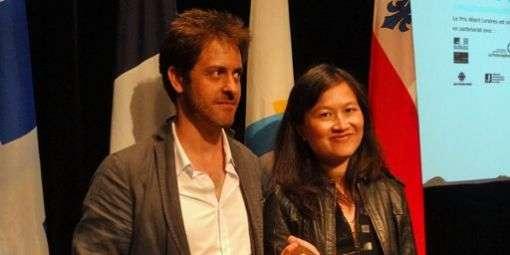 Le prix Albert Londres était organisé pour la première fois à Montréal, au Québec, pour sa 80ème édition