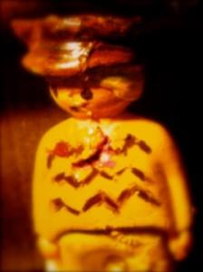 Colonel démobilisé (figurine de résine peinte), Clara Schmelck