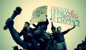 Manifestation en faveur du retour de Leonarda sur le territoire français.