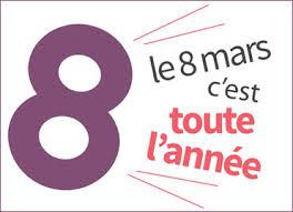 Le 8 mars, c'est toute l'année, rappelle le gouvernement français.