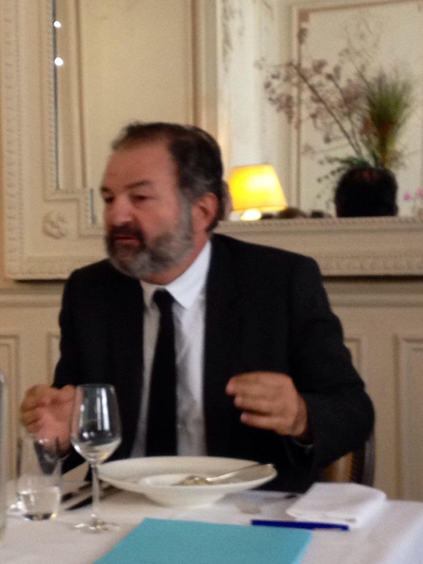 Denis Olivenne, DG de Lagardère Active. Photo : CS